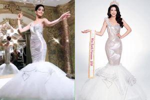 Vừa 'úp mở' kiểu trang phục dạ hội ở Miss Universe, H'Hen Niê đã bị fan phản đối kịch liệt