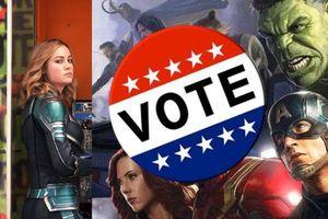 Nhà Marvel tạo viral thông qua cuộc vận động bầu cử Mỹ giữa nhiệm kì
