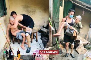 Chàng trai Sài Gòn mất một chân chăm sóc cụ già neo đơn