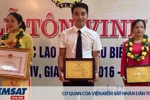 Kiểm sát viên trẻ tiêu biểu của VKSND thị xã Phổ Yên, Thái Nguyên