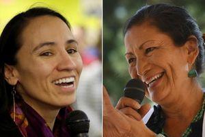 Bầu cử giữa kỳ Mỹ: Lần đầu tiên 2 phụ nữ Mỹ bản địa được vào Quốc hội