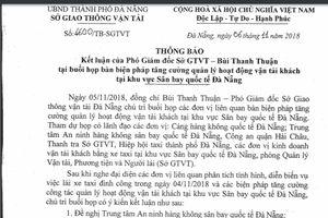 Hàng trăm tài xế taxi đình công ở Đà Nẵng: Đề nghị điều tra những người kích động