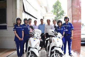 TP.HCM thí điểm cấp cứu bằng xe máy