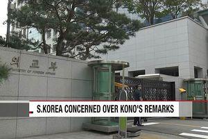 Hàn Quốc đáp trả phát biểu của Ngoại trưởng Nhật Bản