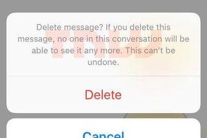 Facebook sắp cho phép xóa tin nhắn đã gửi trong Messenger