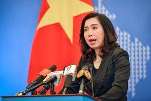 Việt Nam phản đối Trung Quốc mở trạm khí tượng tại quần đảo Trường Sa