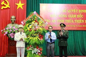 Phó Tư lệnh Cảnh sát cơ động làm Giám đốc công an tỉnh TT- Huế