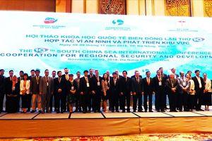 Hơn 200 học giả bàn về 'Hợp tác vì an ninh và phát triển khu vực' Biển Đông