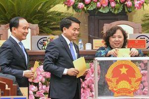37 chức danh được lấy phiếu tín nhiệm tại kỳ họp thứ 7 HĐND thành phố Hà Nội