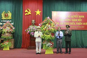 Thừa Thiên - Huế chính thức có tân Giám đốc Công an tỉnh