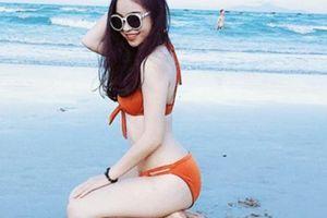 Bạn gái Quang Hải 'đốt mắt' NHM vì mặc... bikini quá gợi cảm