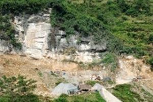 Xử lý nghiêm tình trạng khai thác đá vôi trái phép ở Xín Mần