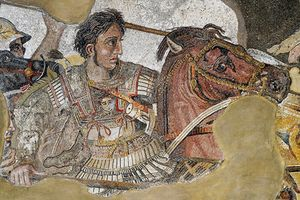 Vũ khí 'chết người' suýt diệt sạch quân đội của Alexander Đại đế