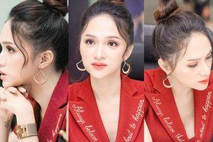 '50 sắc thái' xinh đẹp hút hồn của Hương Giang khi ngồi ghế giám khảo