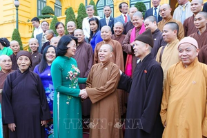 Nhà nước luôn quan tâm tới vai trò các tổ chức tôn giáo