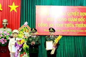 Thừa Thiên Huế có Giám đốc công an mới