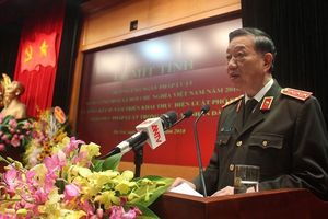 Bộ Công an mít tinh hưởng ứng Ngày Pháp luật Việt Nam năm 2018