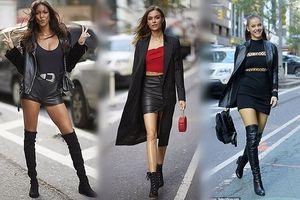 Đội thiên thần Victoria's Secret chân dài hút mắt trên phố New York