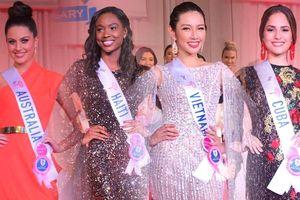 Trước 'Giờ G', Thùy Tiên lọt top 12 bình chọn Miss International