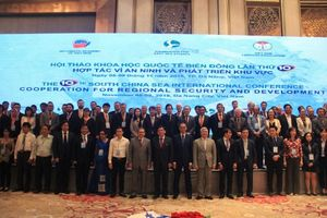 Hơn 250 đại biểu, học giả bàn về biển Đông ở Đà Nẵng