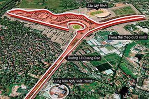 Vì sao Mỹ Đình được chọn làm đường đua xe F1?