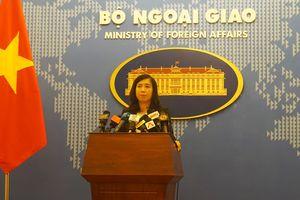 Việt Nam yêu cầu TQ dừng ngay việc đặt trạm khí tượng trái phép ở Trường Sa
