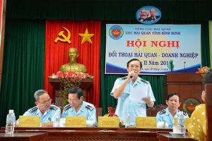 Cục Hải quan Bình Định đối thoại, gỡ vướng cho gần 150 doanh nghiệp