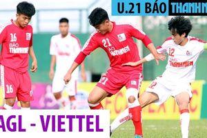 U.21 Viettel - U.21 HAGL 0-3: Phan Thanh Hậu lập Hat-trick, ĐKVĐ có chiến thắng đậm đầu tay