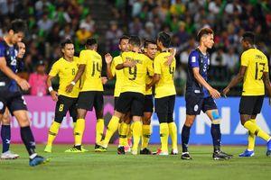 Thắng nhọc Campuchia, tuyển Malaysia xếp dưới Việt Nam sau lượt trận đầu bảng A