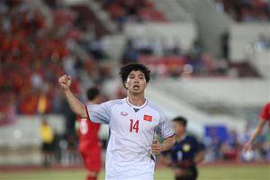 Công Phượng, Anh Đức và Quang Hải cùng lập công, tuyển Việt Nam thắng Lào giòn giã 3-0