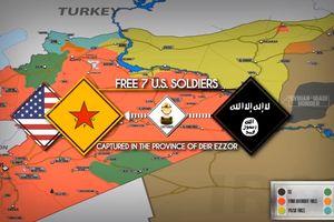 Sốc: Người Kurd đàm phán với IS thả 7 tù binh Mỹ bị bắt