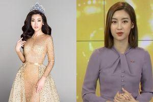 'Dở khóc dở cười' với Hoa hậu Đỗ Mỹ Linh khi lần đầu 'lấn sân' sang làm biên tập viên trên kênh truyền hình quốc gia