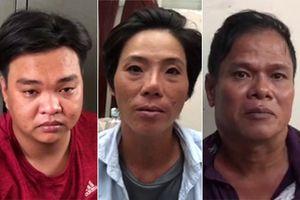 Dàn cảnh đụng xe trộm tài sản, 3 đối tượng bị đội đặc nhiệm bắt giữ