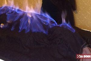 Giới khoa học chưa công nhận phương pháp làm đẹp... bằng cách đốt cồn lên mặt