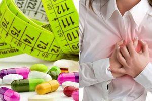 Thuốc giảm cân có thể gây đột quỵ và nhồi máu cơ tim như thế nào?
