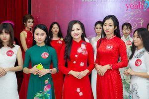 Muốn có được tấm vé vào vòng bán kết cuộc thi Hoa khôi Sinh viên Việt Nam 2018, các thí sinh ngoài nỗ lực còn cần có may mắn!