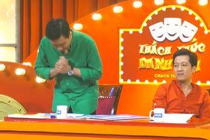 Thách thức danh hài: Trấn Thành cúi đầu nhận lỗi tự bỏ 10 triệu ra 'đền' cho chương trình vì tội 'cười quá dễ dãi'