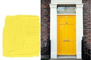 Những màu sơn cửa tốt nhất cho năm mới mà bạn không nên bỏ qua