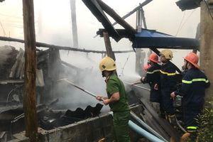 Thái Nguyên: Gần 100 tấn chè khô bị thiêu rụi sau cơn hỏa hoạn