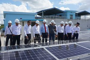 Dự án điện mặt trời áp mái đầu tiên tại phía Nam nối lưới thành công