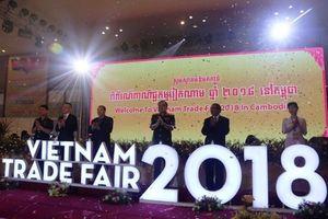 Khai mạc Hội chợ Thương mại Việt Nam 2018 tại Campuchia