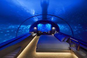 Mất hơn 1 tỷ đồng để 'qua đêm' ở khách sạn dưới biển đầu tiên trên thế giới