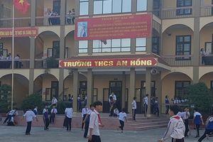 UBND huyện An Dương chỉ đạo xác minh Phó hiệu trưởng dúi đầu học sinh vào tường
