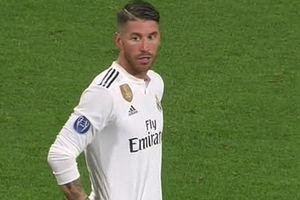 Sergio Ramos tiếp diễn phong cách 'hung thần'