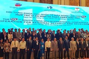 220 đại biểu dự Hội thảo khoa học quốc tế về Biển Đông lần thứ 10