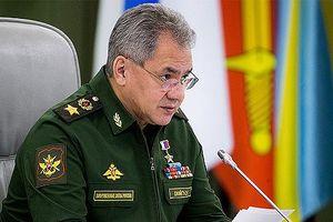 Bộ trưởng Quốc phòng Nga tiếp Tướng Libi Khalifa Haftar
