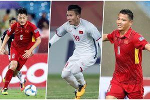 Lộ số áo chính thức của ĐT Việt Nam tại AFF Cup 2018