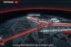 Tổng quan đường đua F1 được thiết kế ở Hà Nội