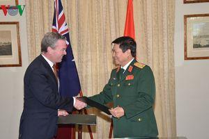 Việt Nam – Australia ký Tuyên bố tầm nhìn chung về thúc đẩy hợp tác