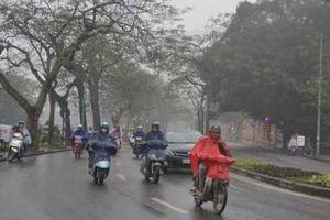 Không khí lạnh tràn về, miền Bắc mưa lớn diện rộng